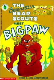 Cover of: The Berenstain Bear Scouts Meet Bigpaw (Berenstain Bear Scouts)