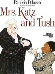 Cover of: Mrs. Katz and Tush