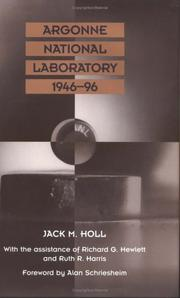 Cover of: Argonne National Laboratory, 1946-96