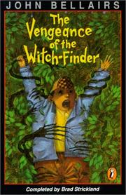 Cover of: The Vengeance of the Witch-Finder