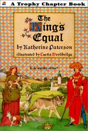 Cover of: The King's Equal (Trophy Chapter Books)