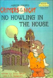 Cover of: No Howling in the House | Mercer Mayer