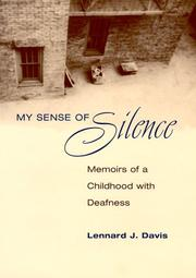 Cover of: My sense of silence