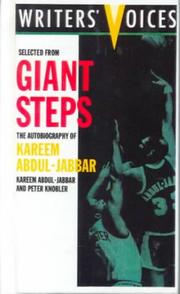 Cover of: Selected from Giant Steps (Writers' Voices)