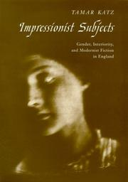 Cover of: Impressionist Subjects