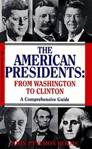 Cover of: American presidents | John Pynchon Holms
