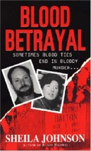 Cover of: Blood Betrayal | Sheila Johnson