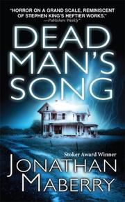 Cover of: Dead Man's Song