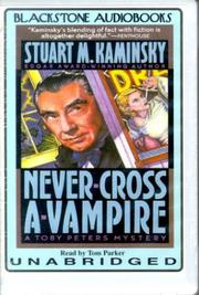 Cover of: Never Cross a Vampire