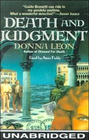 Cover of: Death and Judgment (Reef)