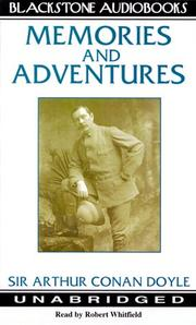 Memories and adventures by Sir Arthur Conan Doyle