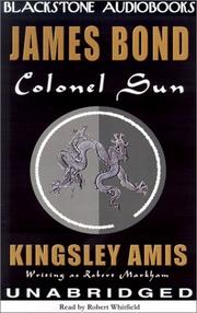 Cover of: Colonel Sun (James Bond 007 (Blackstone))