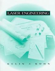 Cover of: Laser engineering