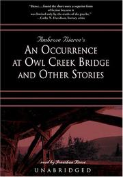 Cover of: An Occurrence At Owl Creek Bridge And Other Stories