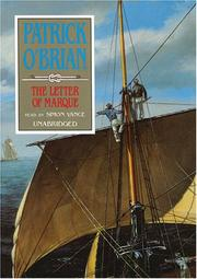 Cover of: The Letter of Marque (Aubrey-Maturin)