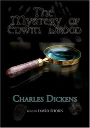 Cover of: The Mystery of Edwin Drood |