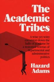 Cover of: The academic tribes
