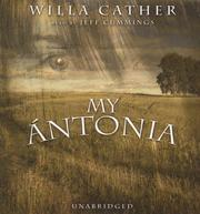 Cover of: My Ãntonia | Willa Cather