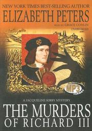 Cover of: The Murders of Richard III