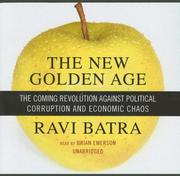Cover of: New Golden Age | Ravi Batra