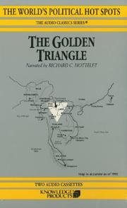 Cover of: The Golden Triangle | Bertil Lintner