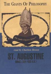 Cover of: St. Augustine (Library Edition) | R. J. O