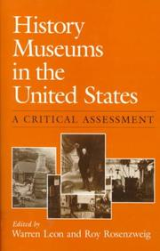 Cover of: History museums in the United States |