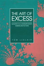 Cover of: The art of excess