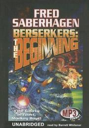 Cover of: Berserkers: the Beginning