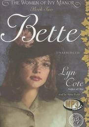 Cover of: Bette