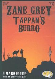 Cover of: Tappan's Burro