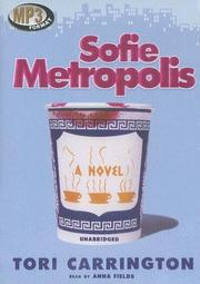 Cover of: Sofie Metropolis | Tori Carrington