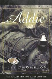 Cover of: Addie | Lee Thompson