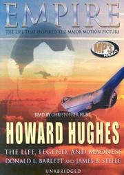 Cover of: Howard Hughes: The Life, Legend, and Madness