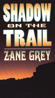 Cover of: Shadow on the trail