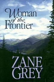 Cover of: Woman of the Frontier: a western story