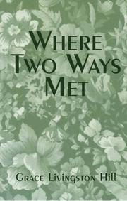 Cover of: Where two ways met