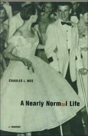 Cover of: A Nearly Normal Life | Charles L. Mee