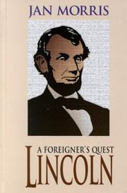 Cover of: Lincoln, a foreigner's quest
