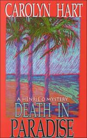 Cover of: Death in paradise: a Henrie O mystery