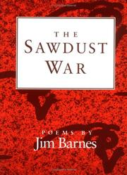 Cover of: The Sawdust War