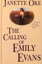 Cover of: The calling of Emily Evans