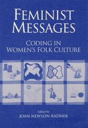 Cover of: Feminist messages |