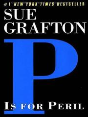 "Cover of: ""P"" is for peril: A Kinsey Milhone Mystery (Sue Grafton)"