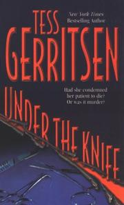 Cover of: Under the knife