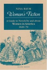 Cover of: Woman's fiction