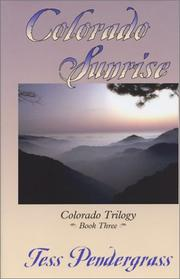 Cover of: Colorado sunrise