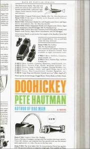 Cover of: Doohickey: A Novel