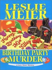 Cover of: Birthday party murder: a Lucy Stone mystery