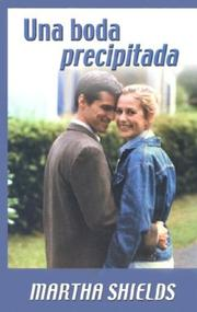 Cover of: Una boda precipitada
